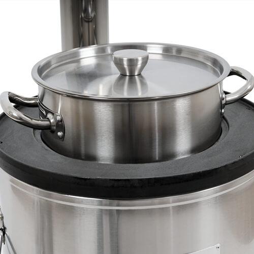 BBQ stove M55 B pot