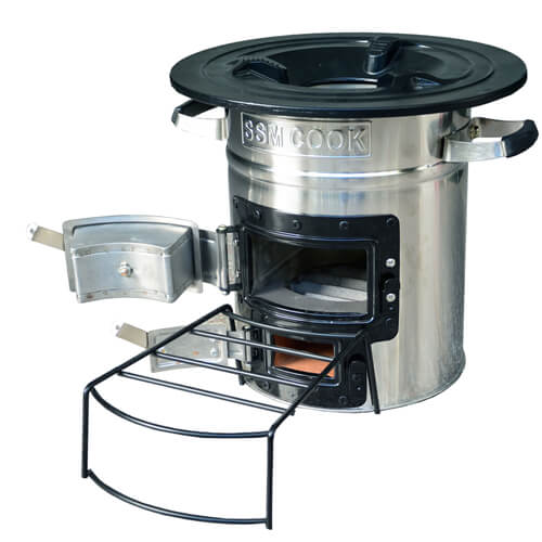 Wood stove S32 23 B Side